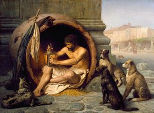 Philosopher File: Diogenes the Cynic